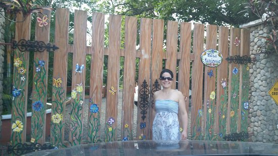 Casa Mariposa: Entrance