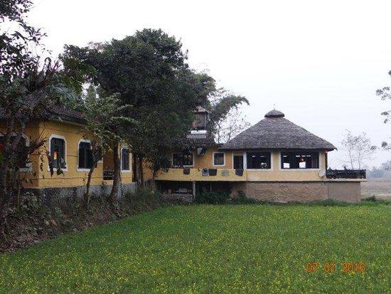 Sapana Village Lodge: View on arrival