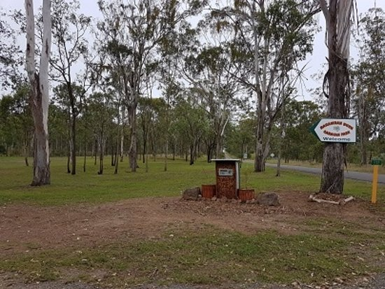 Murgon, ออสเตรเลีย: The entrance to Barambah Bush
