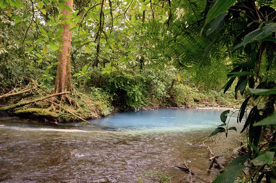 Tenorio Volcano National Park, Costa Rica: Where the two rivers meet