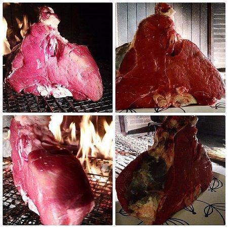 Osteria di Casa Chianti: Bistecca alla fiorentina da 2.480 gr