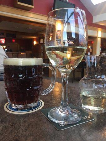 Winter Ale and Chardonnay, The Shady Rest Waterfront, 3109 Island Hwy W, Qualicum Beach, BC