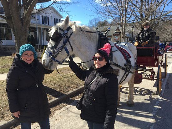 Egg Harbor, WI: The Winter Wonderland tour! Great food, great wine, fun carriage tour off the beaten path by Cot