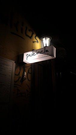 Pulcinella Bistro: お店外観