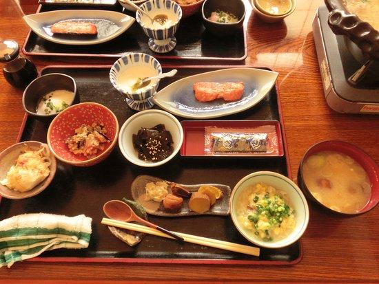 Nishiwaga-machi, Japón: 朝食
