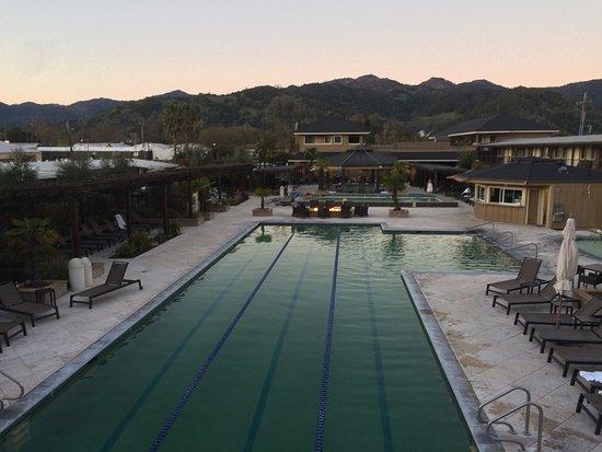Calistoga Spa Hot Springs : Perfect!