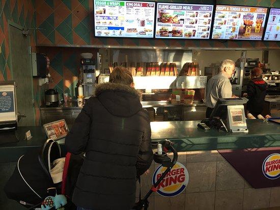 Vernon, Canadá: Burger King