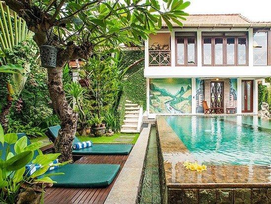 "Umah Watu Villas: ""Taman Toya"" Guestroom and Guesthouse Pool"