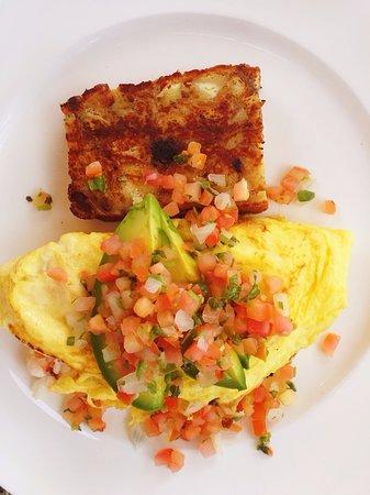 Goleta, CA: Lobster Omelette