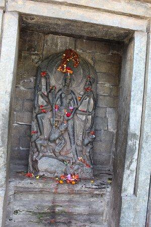 Kullu District, Ấn Độ: One of the deities....