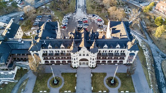 Saltsjobaden, Швеция: Hotel from above