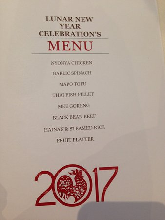Oakleigh, Australia: Our pre-ordered set menu for 70 people