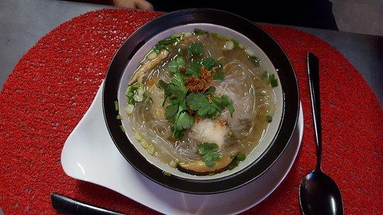 Entr e soupe pr par e de poisson picture of la cuisine des sentiments perpignan tripadvisor - La cuisine des sentiments ...