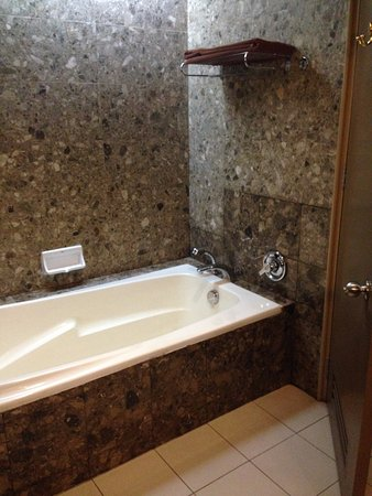 Nice, deep bath tub! - Picture of Pacific Regency Hotel Suites ...