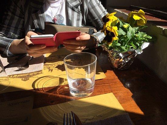 Виккьо, Италия: il tavolo