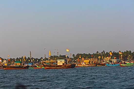 Malvan, India: some boats