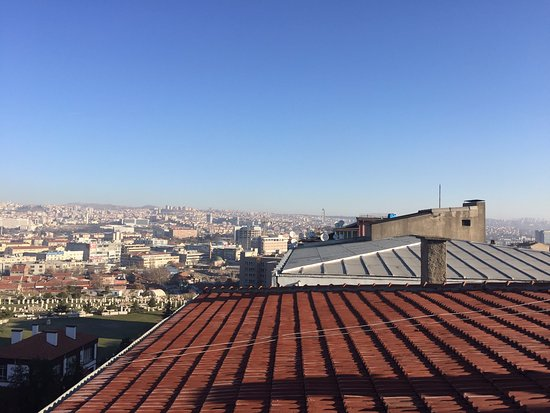Atalay Hotel: Вид с террасы