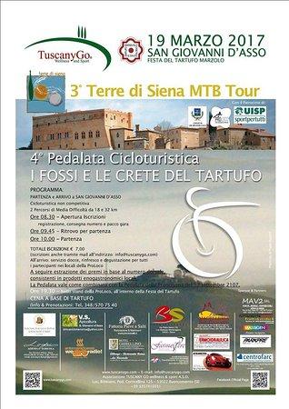 Serre di Rapolano, Itália: Marzo è il mese del tartufo nelle Crete senesi- March is the month of truffles!