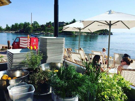 Restaurant Demo's Summer Restaurant will be open at Mattolaituri again this summer!