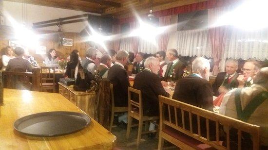 Jerzens, Austria: Geburtstagsfeier