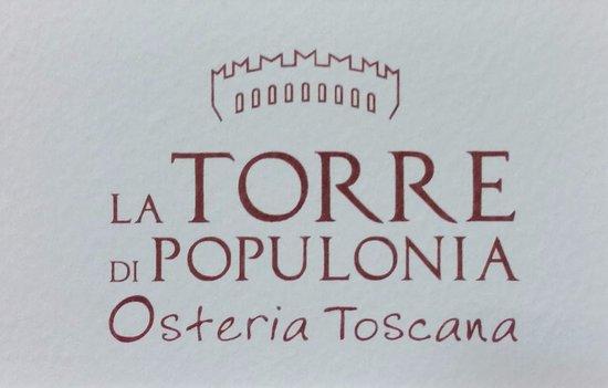 Populonia, Italy: biglietto da visita