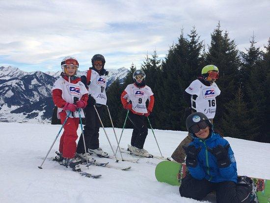 Hotel Alpenblick: Alpenblick Gästen-Skirennen, auch für Snowboarder