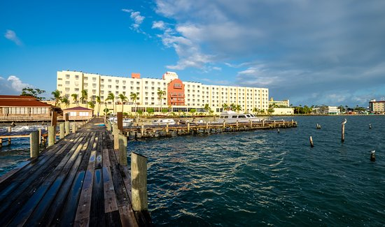 Ramada Belize City Princess Hotel View From Waterfront