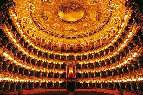 Teatro Massimo Bellini: Foto scattata dal palcoscenico