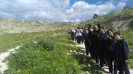 Irbid, Yordania: ممرات للمشي trails for hiking