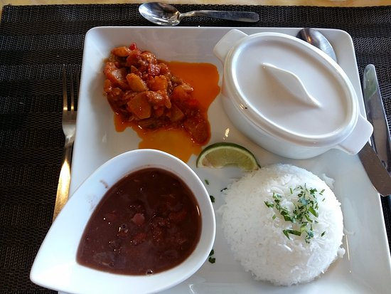 Excellent flan noix de coco obr zek za zen restaurant for Restaurant jardin botanique