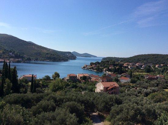 Zaton, Croatia: View from Master Bedroom