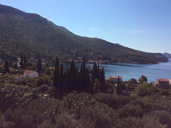 Zaton, Croatia: View from Balcony