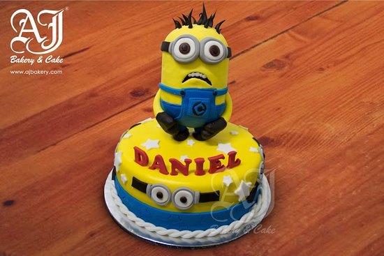 Birthday Cake Images Minions ~ Minions birthday cake picture of aj bakery cake jakarta