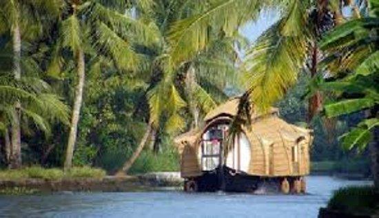 Nedumbassery, India: house boat