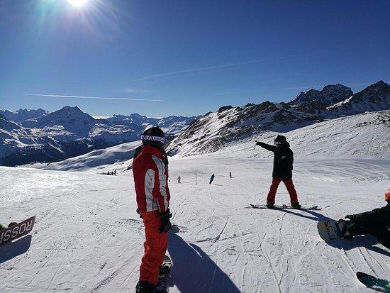 Club Med Saint Moritz Roi Soleil: on the slopes