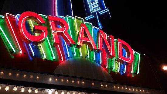 Fitzgerald, GA: Neon in full glow at the Grand