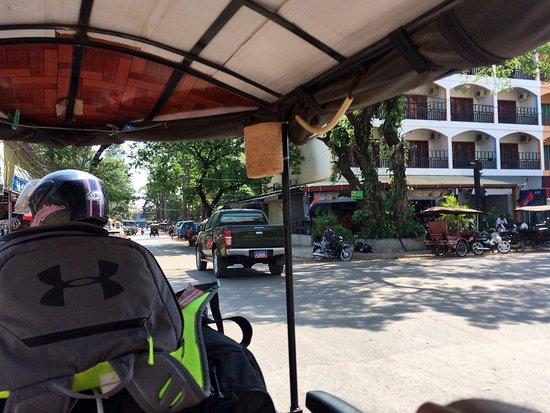 Angkor Tuktuk Driver