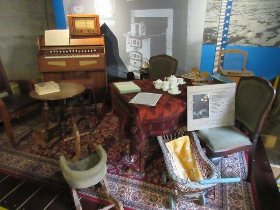 watersnoodmuseum interieur huiskamer