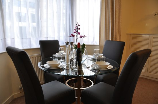 Studio Apartment Dining Table 2 Picture Of Marlyn Lodge City Of London Tripadvisor