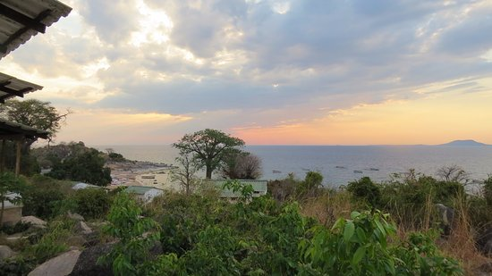 Ulisa Bay Lodge: Storm Clouds over Lake Malawi