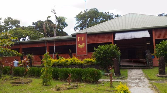 Suva, Fiji: Museo de Fiji en Thurston Garden.