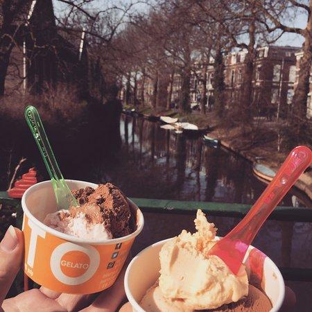 Roberto Gelato: lekker ijsje, mooi Utrecht