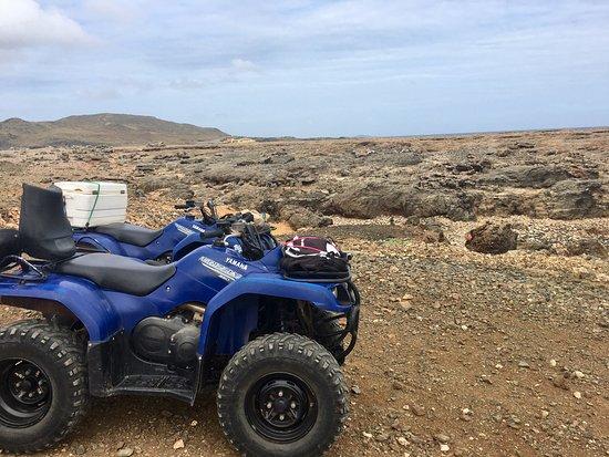 Paradera, Aruba: moonscape