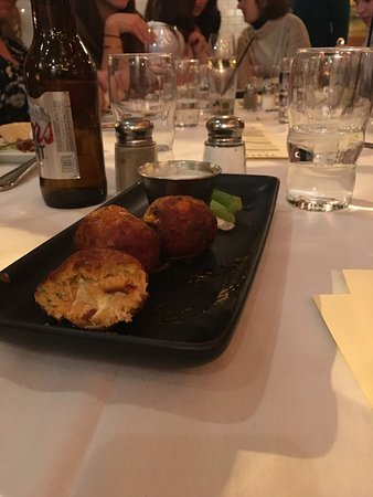 Morristown, Nueva Jersey: Buffalo Chicken Meatballs