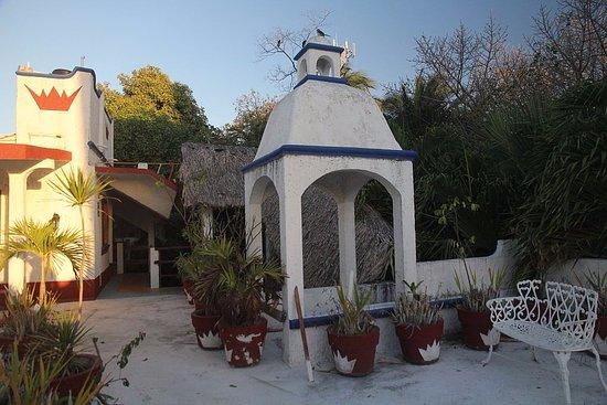 Eco-Hotel El Rey Del Caribe: крыша