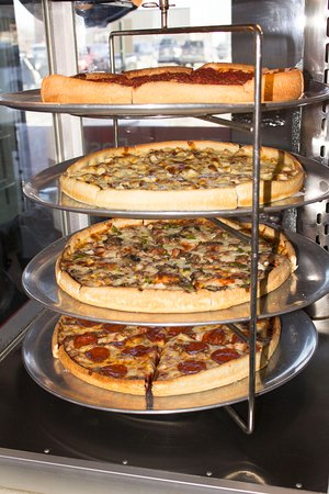 Wausau, WI: Pizza by the slice everyday 11-1:30pm