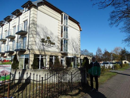 Jaroslawiec, Poland: Widok na hotel