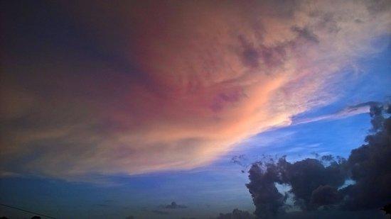 Central Province, Sri Lanka: Beautiful Kandy Sky in the evening