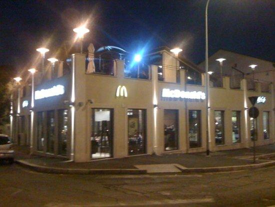 Mcdonald S Rome Via Ostiense Ostiense Menu Prices