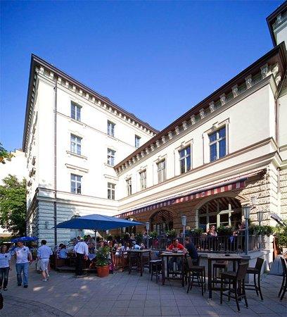 Hofbräukeller München: Unsere Terrasse